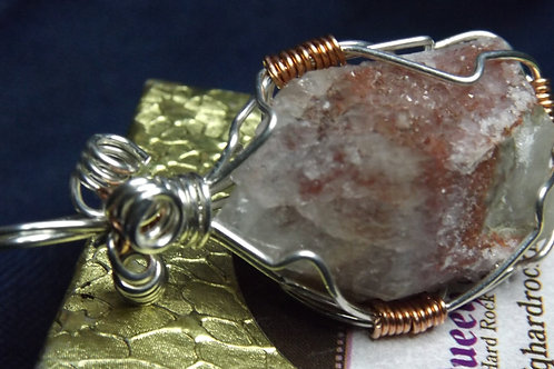 Red Raspberry Crystal Pendent