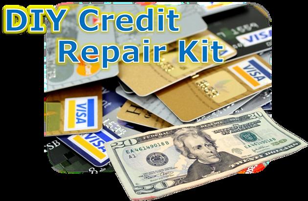 Do it yourself credit repair fix bad credit on your own in 6 easy heres how diy credit repair kit solutioingenieria Gallery