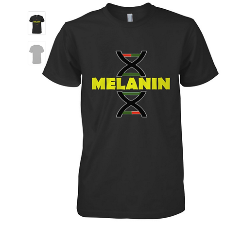 Melanin DNA T-Shirt