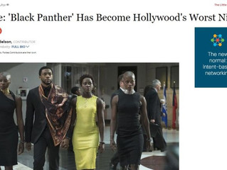 White Writer Calls Black Panther 'Hollywood's Worst Nightmare,' Blames It for White People's Problem