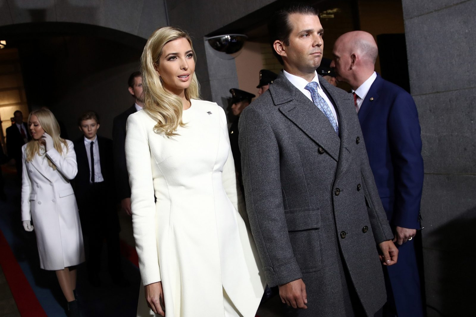 Ivanka and Donald Trump Jr. Were Alm