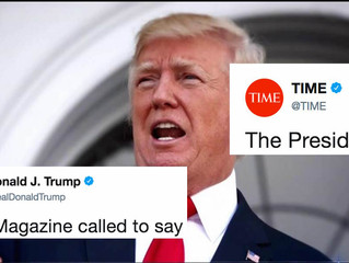 "TIME Magazine Finally Responded To Trump's Twitter Fit About Not Getting ""Man of the Year"""