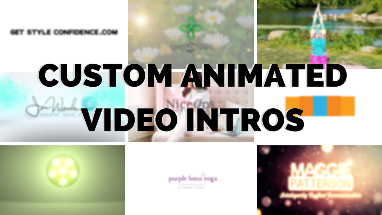 Custom Animated Video Intros