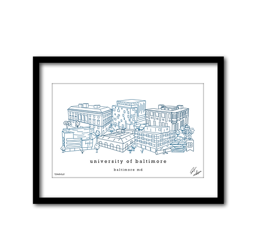 University of Baltimore Artwork