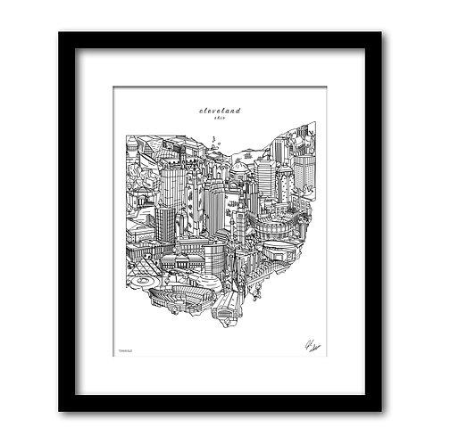 Cleveland Ohio Artwork