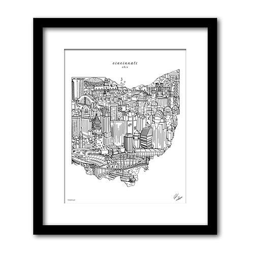 Cincinnati Ohio Artwork