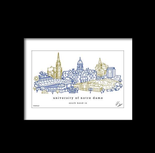University of Notre Dame Artwork
