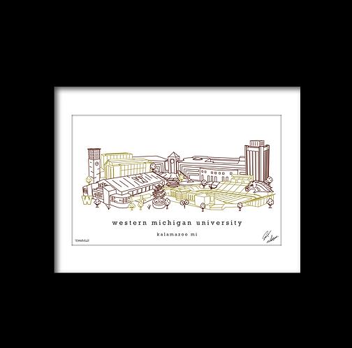 Western Michigan University Artwork