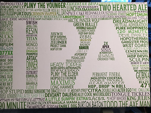 IPA word art