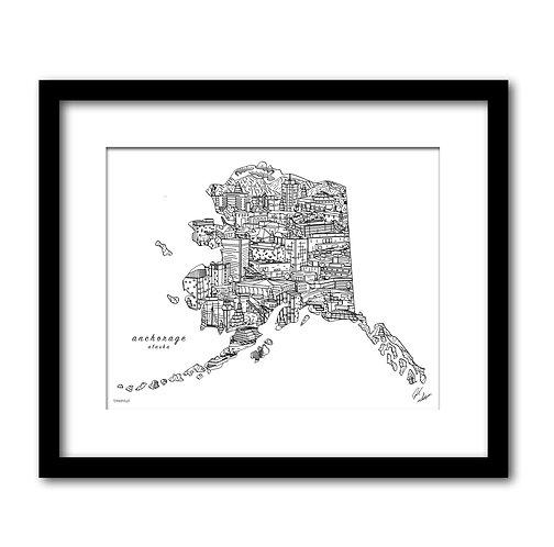 Anchorage Alaska Artwork