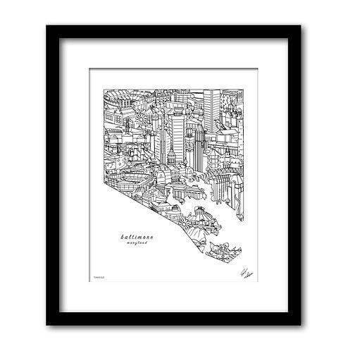 Baltimore Maryland Artwork