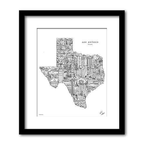 San Antonio Texas Artwork