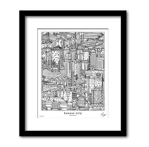 Kansas City Art Print