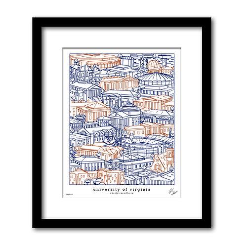 University of Virginia Artwork