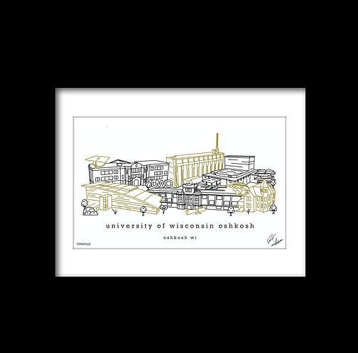 University of Wisconsin Oshkosh Artwork