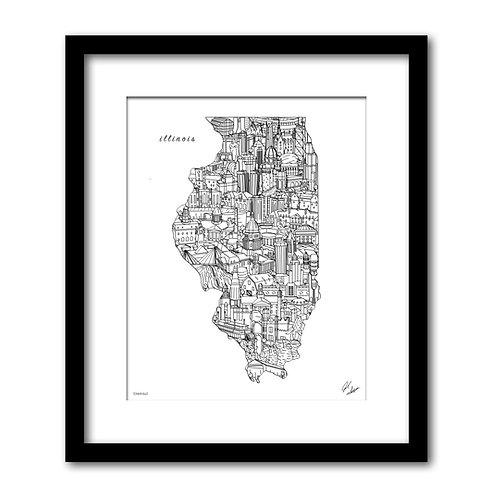 Illinois Artwork
