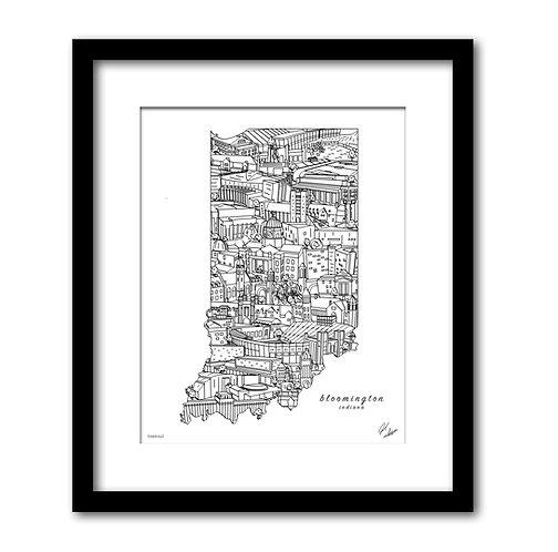 Bloomington Indiana Artwork