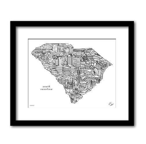 South Carolina Artwork
