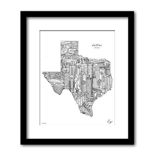 Dallas Texas Artwork