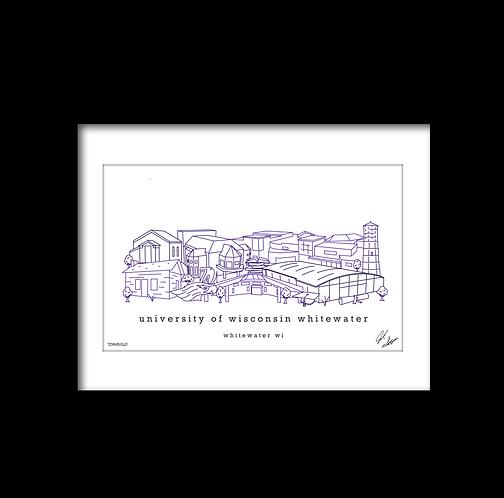 University of Wisconsin Whitewater Artwork