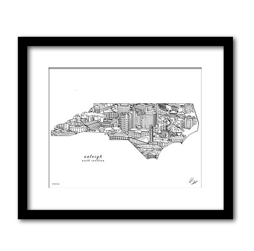 Raleigh North Carolina Artwork