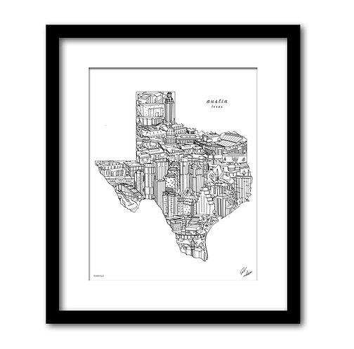 Austin Texas Artwork