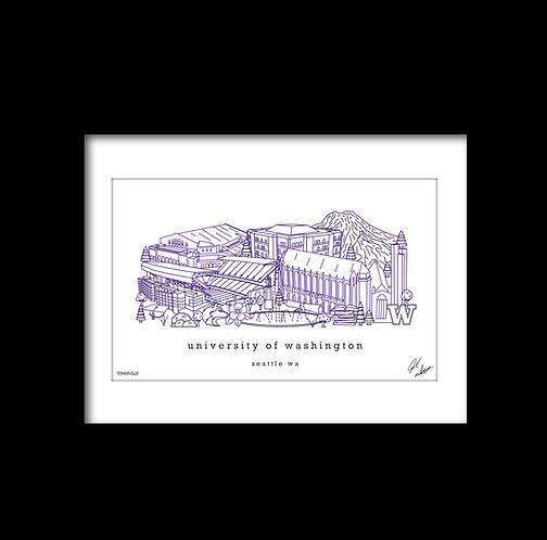 University of Washington Artwork