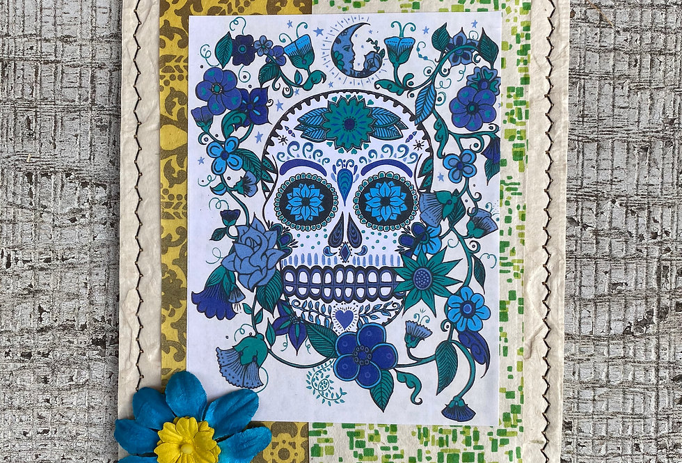 Day of Dead Blue