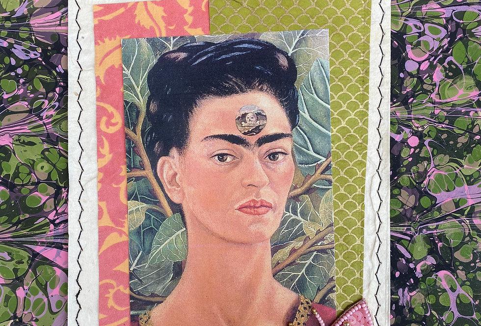 Frida Celebrating Day of Dead