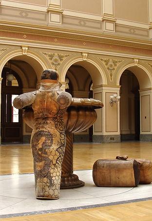 Gladiator_tatooed sculpture_Zdenek Srstka_Bill