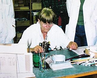Zelezny Brod glass making school