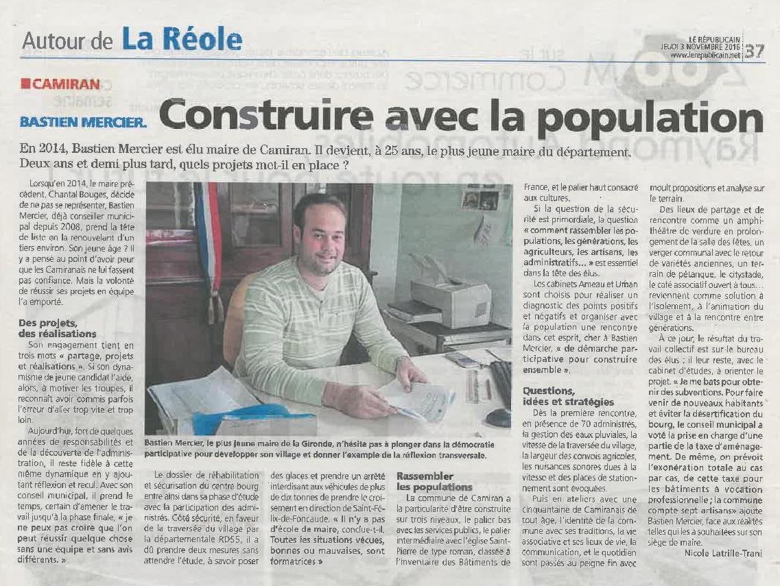 Camiran _Le Républicain _03112016