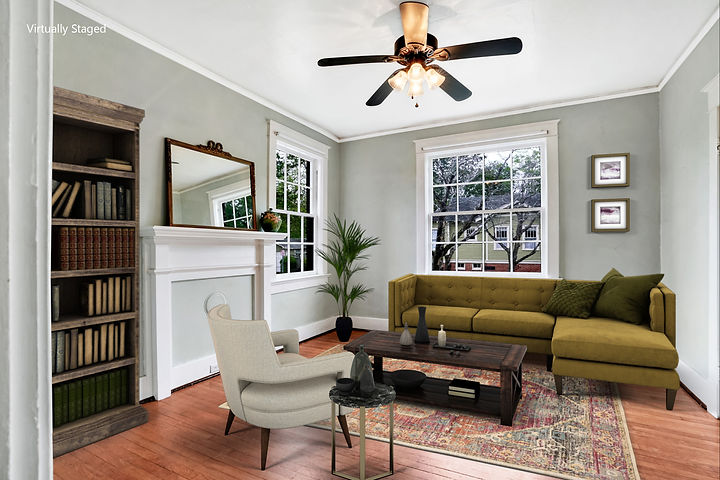 Staged 1319 Princess Street, Wilmington NC by Fran Downey, Fathom Realty