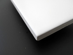 Sunshine Hvid Mat 7,5x15 cm