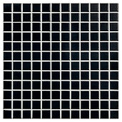 Black 23x23 mm keramisk mosaik fra Aqua Color - Colour Ceramica