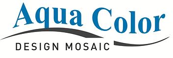 Aqua Color Mosaic logo