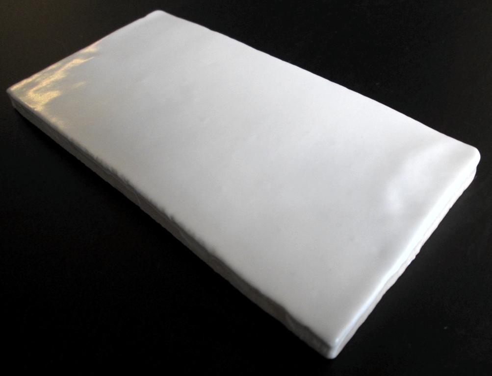 Mazia Hvid Mat 7,5x15 cm