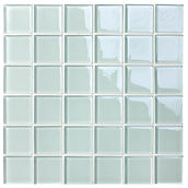 Durban 48x48 mm krystal mosaik fra Aqua Color - Colour Ceramica