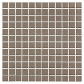 Mid Brown 23x23 mm keramisk mosaik fra Aqua Color - Colour Ceramica