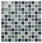 Warsaw 23x23 mm krystal mosaik fra Aqua Color - Colour Ceramica