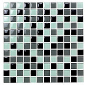 Salamanca 23x23 mm krystal mosaik fra Aqua Color - Colour Ceramica