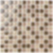 Bangkok 23x23 mm krystal mosaik fra Aqua Color - Colour Ceramica