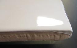 Mazia Hvid Blank 7,5x15 cm