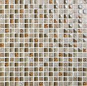 Surat 15x15 mm krystal mosaik fra Aqua Color - Colour Ceramica
