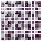 Bergen 23x23 mm krystal mosaik fra Aqua Color - Colour Ceramica