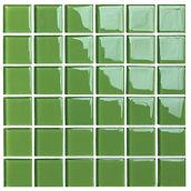 Malmö 48x48 mm krystal mosaik fra Aqua Color - Colour Ceramica