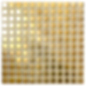 Gold 23x23 mm keramisk mosaik fra Aqua Color - Colour Ceramica