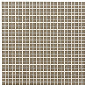Light Brown 10x10 mm keramisk mosaik fra Aqua Color - Colour Ceramica