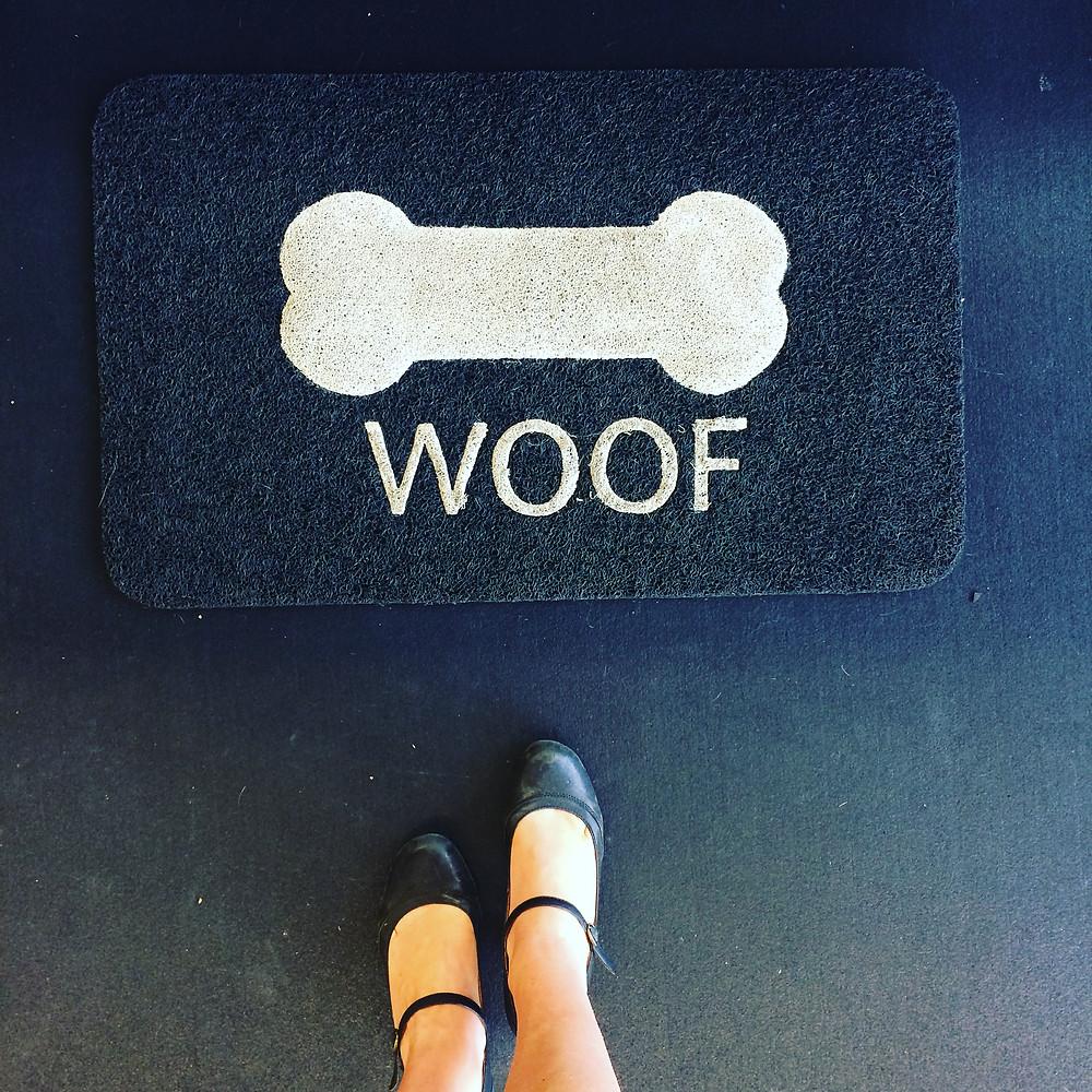 Woof Doormat