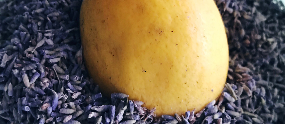 Lavender and Lemon Infused Sugar